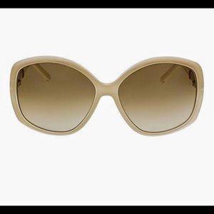 Chloe' light turtledove sunglasses